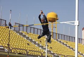 (ویدئو) پرواز ۴ متری مهسا میرزاطبیبی