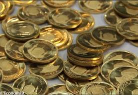 حباب سکه ۱۰۰ هزار تومان کاهش یافت