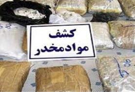 انهدام باند بزرگ قاچاق و کشف ۳.۵ تن مواد مخدر