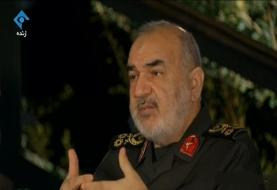 فرمانده کل سپاه: آمریکا شرایط تحمیل جنگ به ایران را ندارد