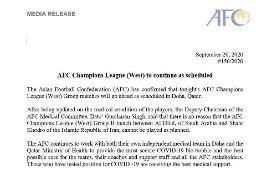 بیانیه AFC تکلیف شهرخودرو و الهلال را مشخص کرد