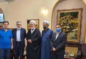 دیدار مهدی کروبی با کرباسچی و قوچانی 'پس از ده سال'