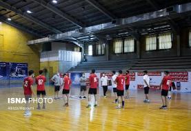 ازسرگیری اردوی تیم ملی هندبال جوانان بعد از شروع لیگ برتر