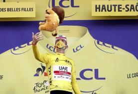 شگفتی سازی دوچرخه سوار ۲۱ ساله با قهرمانی در توردو فرانس