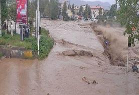 باران شدیدتالش و قطع شدن راه، آب، برق و گاز مناطق سیلزده