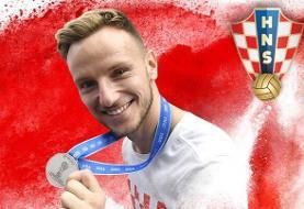راکیتیچ از تیم ملی کرواسی خداحافظی کرد