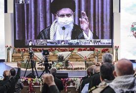 آیت الله خامنهای: سیاست جمهوری اسلامی از اول تا آخر جنگ عقلانی بود