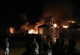 ببینید | آتشسوزی مهیب در لبنیات؛ «میهن» منفجر شد