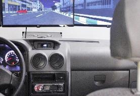 افتتاح پروژه بومیسازی و ساخت شبیهساز رانندگی دامپ تراک