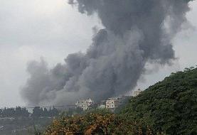 انفجار مهیب در جنوب لبنان | نخستین تصاویر از لحظه انفجار