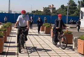 در تلاشیم طول مسیر امن دوچرخه سواری تهران به ۵۰۰ کیلومتر برسد
