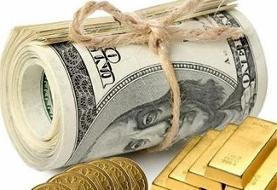 قیمت طلا و سکه، نرخ دلار و یورو در بازار ۲ مهرماه