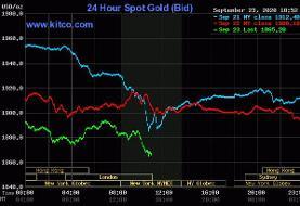 فروپاشی طلا زیر پای دلار | سقوط سنگین اونس؛ ۴۰ دلار در ۱ ساعت