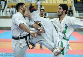 نفرات برتر مسابقات مجازی سبکهای آزاد کاراته آقایان معرفی شدند