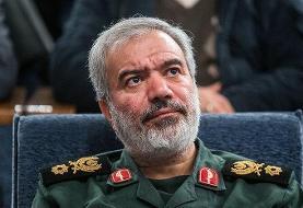 جانشین فرمانده سپاه: نیروهای آمریکایی به خلیج فارس بیایند تا در تیررس ...