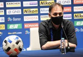 نامجومطلق: بازیکنان استقلال با غیرت ایرانی بازی کردند