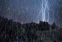 تداوم بارش باران و وزش باد شدید در برخی نقاط کشور