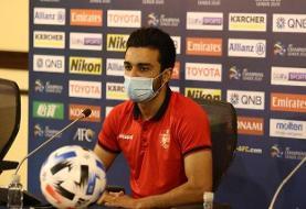 نعمتی: میخواهیم به عنوان آخرین تیم قطر را ترک کنیم