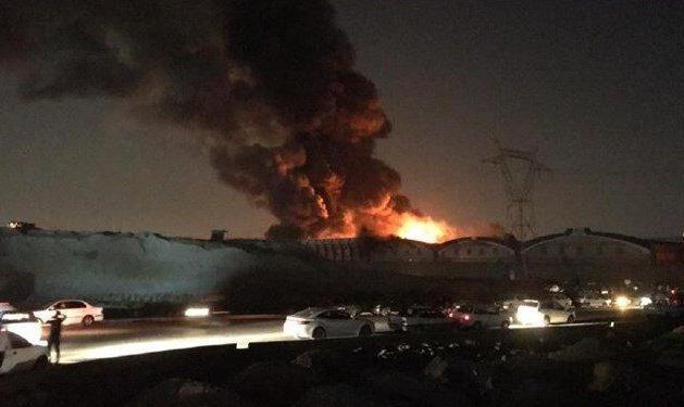 ادامه آتش سوزیها و انفجارهای زنجیره ای در کشور: فیلم آتشسوزی مهیب و انفجار در کارخانه لبنیات «میهن»