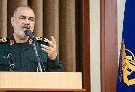 فرمانده کل سپاه: آمریکا دیگر قدرت ترمیم زخمهایش را ندارد