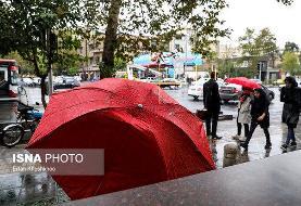 کاهش دما و بارندگی در این مناطق ایران