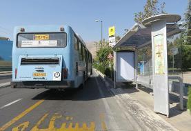 توقف اتوبوسهادر ایستگاه کرونا