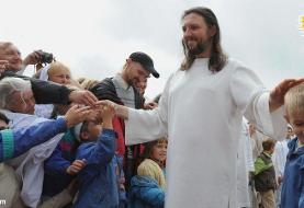 (ویدئو) مسیح قلابی به دام افتاد