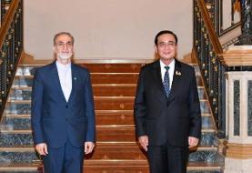دیدار سفیر کشورمان با نخستوزیر تایلند