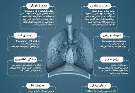 ببینید | ۸ ترفند برای تقویت ریهها در ایام کرونا
