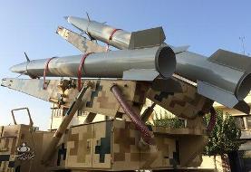 تصاویر | لانچر دو فروندی موشک «رعد-۵۰۰» سپاه به نمایش درآمد