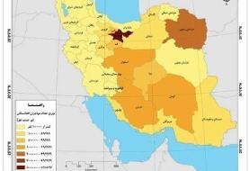 کدام استانها بیشترین جمعیت اتباع افغانستانی را دارند؟ + نقشه