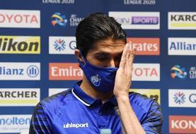 حسینی: برای شاد کردن هواداران انگیزه داریم