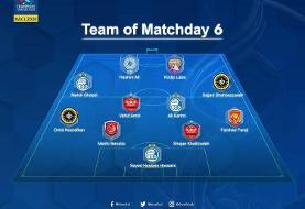 هشت ایرانی در تیم منتخب لیگ قهرمانان آسیا
