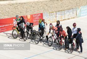 قهرمانی هیات هرمزگان در لیگ برتر دوچرخه سواری بانوان