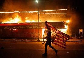 ببینید | برخورد خشن پلیس آمریکا با معترضین باز هم جنجالساز شد