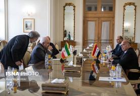 گزارش توییتری ظریف از محور گفتوگوهایش با وزیر خارجه عراق