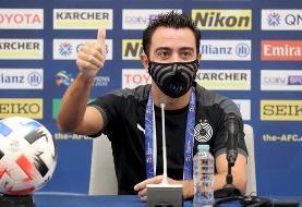 ژاوی: پرشورترین بازیهای زندگیام مقابل تیمهای ایرانی بوده است