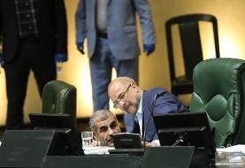 سکوت قالیباف در مقابل جنجال های اخیر مجلس