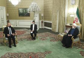 دیدار وزیر امور خارجه عراق با رئیس جمهوری ایران