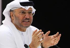 امارات: اقدامات تهاجمی ایران در منطقه باعث توجه کشورهای عرب به اسرائیل شد