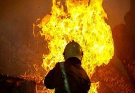 ۲ کشته و ۶ زخمی در حادثه آتش سوزی پمپ بنزین تاکستان