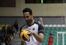 والیبالیست شهرداری ورامین: بازی مقابل پیکان سخت شد