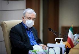 قدردانی وزیر بهداشت از تلاشهای پرسنل اورژانس هوایی