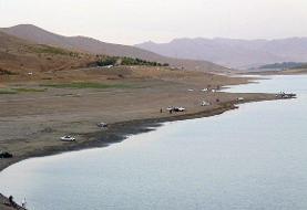 راههای دسترسی به دریاچه سد مهاباد مسدود شد