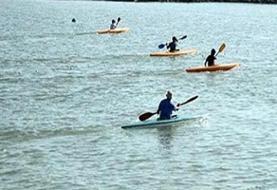قهرمانی قایقرانان گیلانی در رقابتهای آبهای آرام