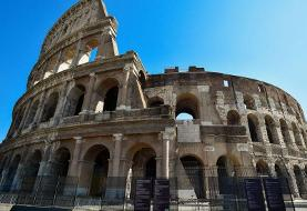 An Irish tourist in Rome defaced the Colosseum by carving his initials into the walls of the ...