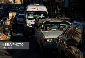 نقطهیابی مبتلایان و شناسایی مناطق کرونایی تهران با سیستم ردیابی دیجیتال