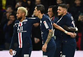 پیروزی PSG با درخشش ایکاردی