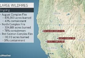 Gusty winds may wreak havoc in Northern California wildfire battle