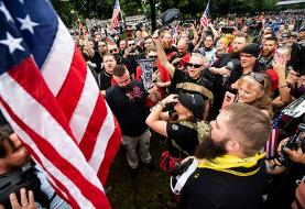 Proud Boys Portland rally: Fred Perry tells right-wing group to stop wearing its iconic T-shirts